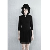 Black dress with the little cross. | must have | Fashion House IVANOVA - designer clothes