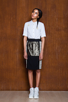 Pencil skirt & white shirt | must have | Fashion House IVANOVA - designer clothes