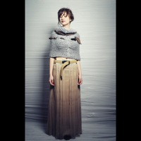 Chiffon maxi skirt, scarf  | must have | Fashion House IVANOVA - designer clothes