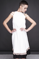 Two-layer dress with elastics. | must have | Fashion House IVANOVA - designer clothes
